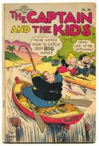 Captain and the Kids #26 1952- Golden Age comic VG
