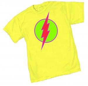 NEO-FLASH SYMBOL T-SHIRT MEDIUM GRAPHITTI DESIGNS NEW