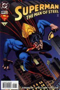 SUPERMAN: MAN OF STEEL (1991 DC) #49