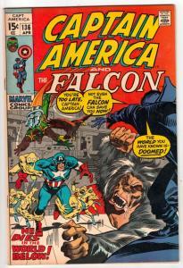 Captain America #136 (Apr-71) VF/NM High-Grade Captain America