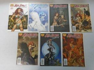 Red Sonja Comic Lot 14 Different Books 8.0 VF