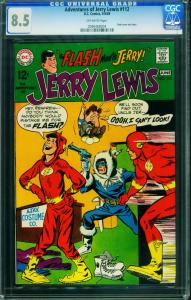 Adventures of Jerry Lewis #112 CGC 8.5 1969 FLASH cover-0090468004