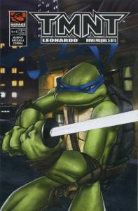 TMNT: Leonardo Movie Prequel # 5 2007 NM Mirage