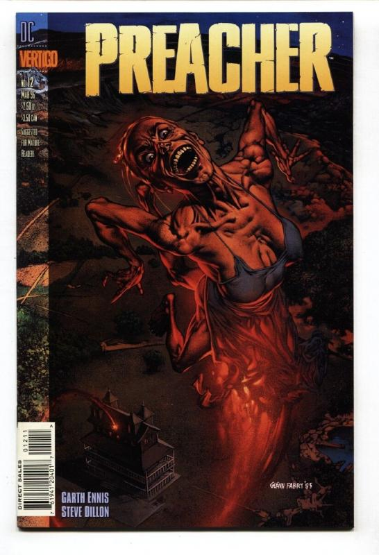 PREACHER #12-HIGH GRADE-1996--GARTH ENNIS/STEVE DILLON NM-