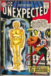 Tales of The Unexpected #66 1961-DC-Space Ranger-Dr Elektro-VF