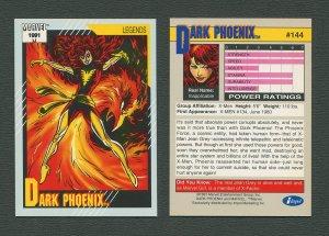 1991 Marvel Comics II  Card  #144 ( Dark Phoenix )  MINT