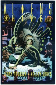 ALIENS HIVES #1 2 3 4, VF+, 1992, 4 issues, more in store, more Horror in store