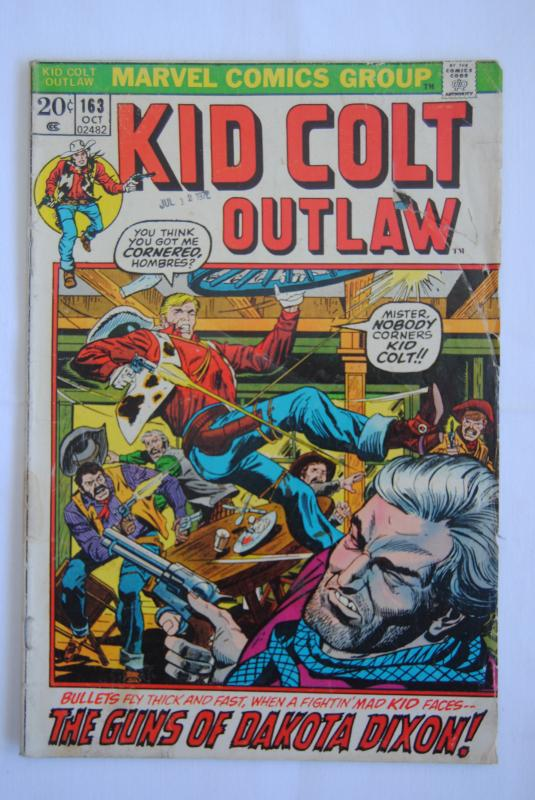 Kid Colt Outlaw #163
