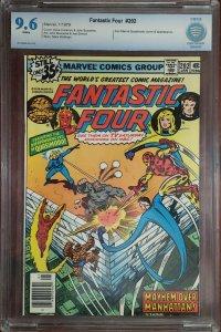 Fantastic Four 202 CBCS 9.6 Iron Man Marvel 1979