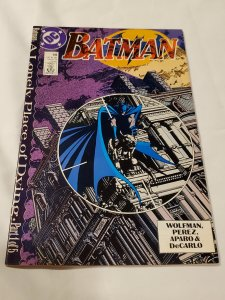 Batman 440 NM Cover by George Perez