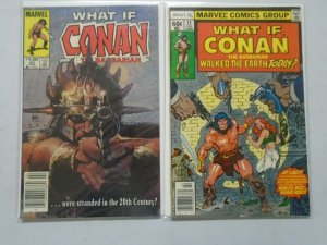 What If? lot 2 different Conan issues 6.0 FN (1979+84)