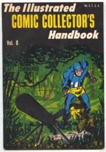 Illustrated Comic Collector's Handbook #2- Fanzine- Centaur Superheroes