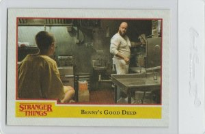 Stranger Things Benny's Good Deed 14 Topps Netflix 2018 Season One trading