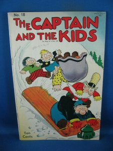 CAPTAIN AND THE KIDS 18 F 1950
