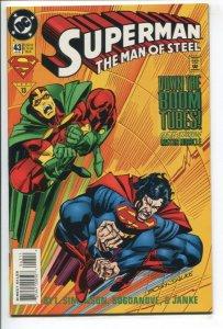 SUPERMAN: MAN OF STEEL (1991 DC) #43 FN/VF NM