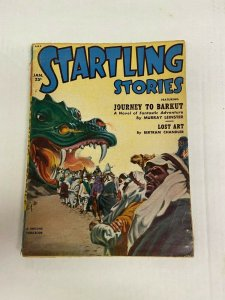 Startling Stories January 1952 Pulp Magazine