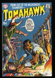 Tomahawk #128 VF 8.0 Neal Adams Cover!