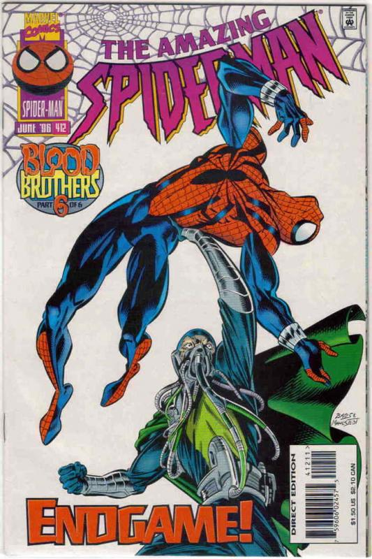 Amazing Spider-Man, The #412 VF/NM; Marvel | save on shipping - details inside