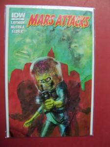 MARS ATTACKS #3 COVER R1   (9.0 to 9.4 or better)  IDW