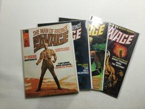 Doc Savage Man Of Bronze 1-6 Lot Magazine Very Fine+ 8.5 Curtis