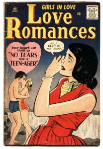 Love Romances #90 1960- Swimsuit cover- Marvel Romance