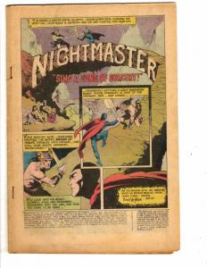 Showcase Presents # 83 Coverless DC Comic Book Feat. Nightmaster 1969 J149