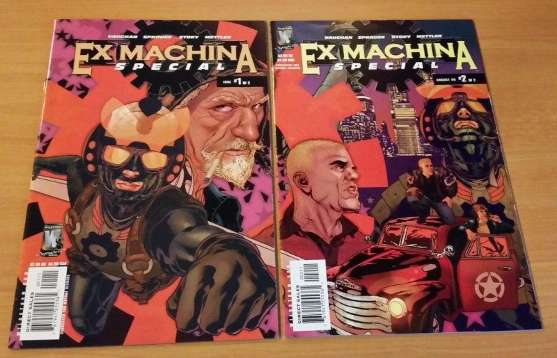 Ex Machina Special 1-2 Complete Set Run! ~ NEAR MINT NM ~ 2006 WildStorm Comics