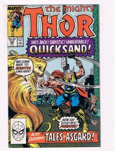 The Mighty Thor # 402 Marvel Comic Books Awesome Issue Modern Age WOW!!!!!!! S27
