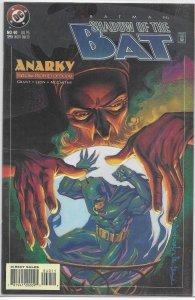 Batman  : Shadow of the Bat   #40 VF/NM (Anarky: Prophet of Doom 1)