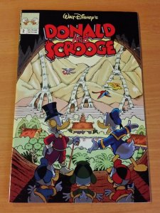 Donald and Scrooge #2 ~ VERY GOOD - FINE FN ~ (1992, Disney Comics)