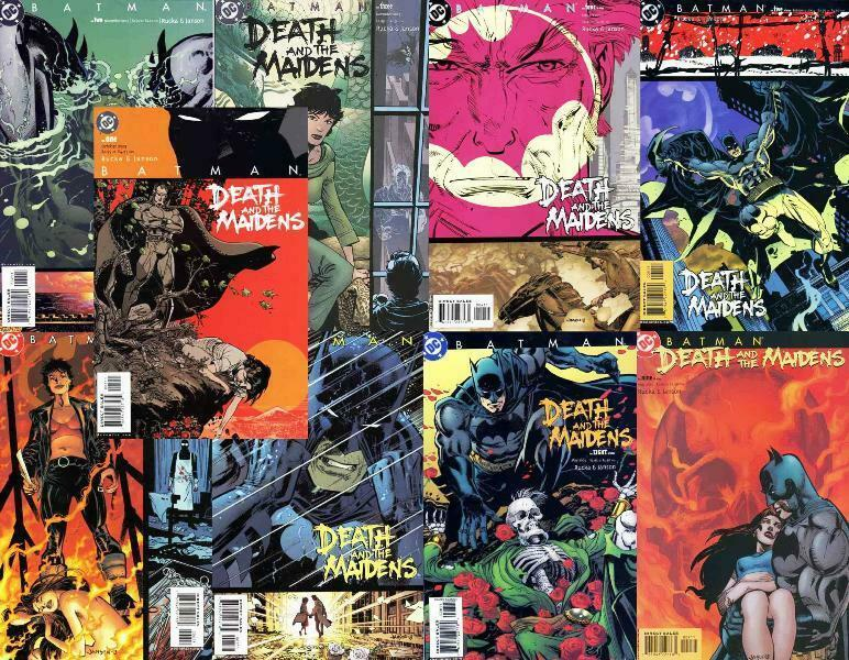BATMAN DEATH & THE MAIDENS (2003) 1-9  the COMPLETE set