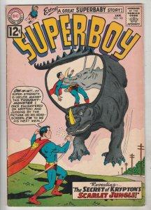 Superboy #102 (Jan-63) FN/VF+ High-Grade Superboy