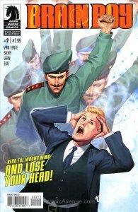 Brain Boy (2nd Series) #2 VF/NM; Dark Horse   save on shipping - details inside