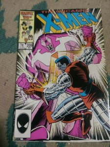 UNCANNY X-MEN # 209 1986 MARVEL  wolverine   NIMROD HOUSE OF X POWERS HELLFIRE