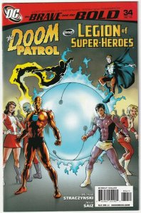 The Brave And The Bold #34 The Doom Patrol And Legion Of Super-Heroes July 2010