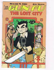 Gung Fu: The Lost City #1 NM Axion Comics Comic Book 2003 DE27
