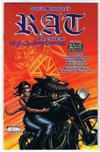 RAT Preview, Ashcan  Promo, Rare, Hampton, 1997, NM