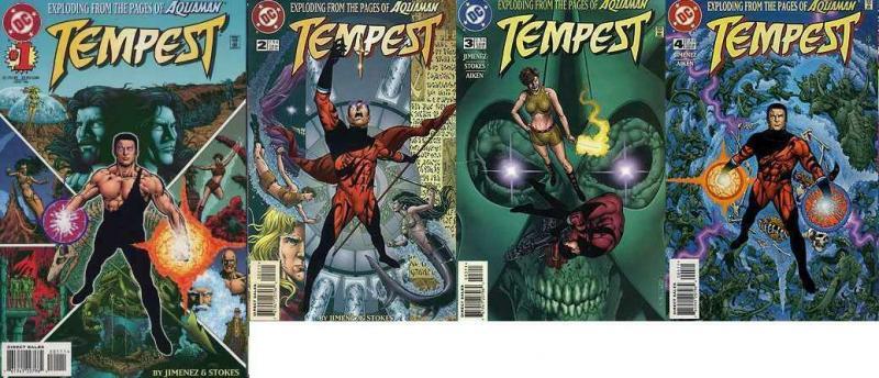 TEMPEST (1996) 1-4  all-new Aqualad!