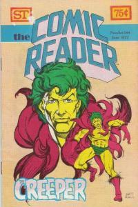 Comic Reader, The #144 VF; Street Enterprises   save on shipping - details insid