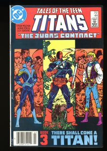 Tales of the Teen Titans #44 FN/VF 7.0 1st Nightwing! Newsstand Variant!