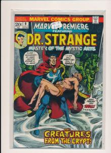 MARVEL DR. STRANGE and CREATURES FROM THE CRYPT #9  VERY GOOD/FINE (HX692)