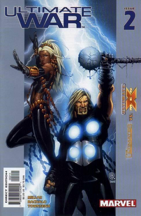 ULTIMATE WAR (2002 MARVEL) #2 NM- AGSLX8