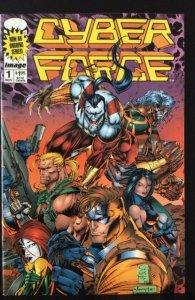 Cyber Force #1 (1993) ungraded