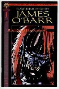 NORTHSTAR PRESENTS ; JAMES O'BARR #1,  NM-, Ghouls, Horror, 1994, Zeitgeist