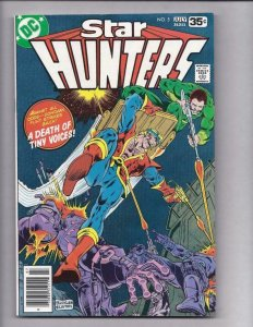 STAR HUNTERS #5, VF/NM, Buckler, Layton, DC 1977 1978  more DC in store