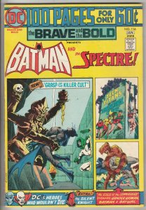 Brave and the Bold, The #116 (Jan-75) VF/NM+ High-Grade Batman, the Spectre