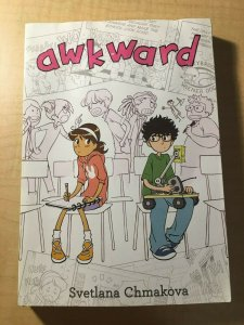 Awkward Yen Press Comic Book TPB Graphic Novel Svetlana Chmakova Teenage MFT2