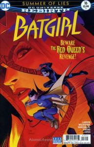 Batgirl (5th Series) #16 VF/NM; DC   save on shipping - details inside