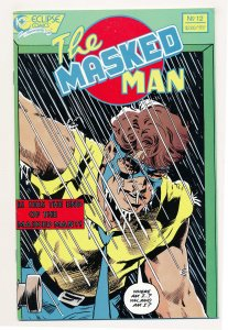 Masked Man (1984) #12 NM Last issue of the series