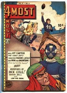 4Most Vol.6  #4 1947-Football cover-Dick Cole-Edison Bell